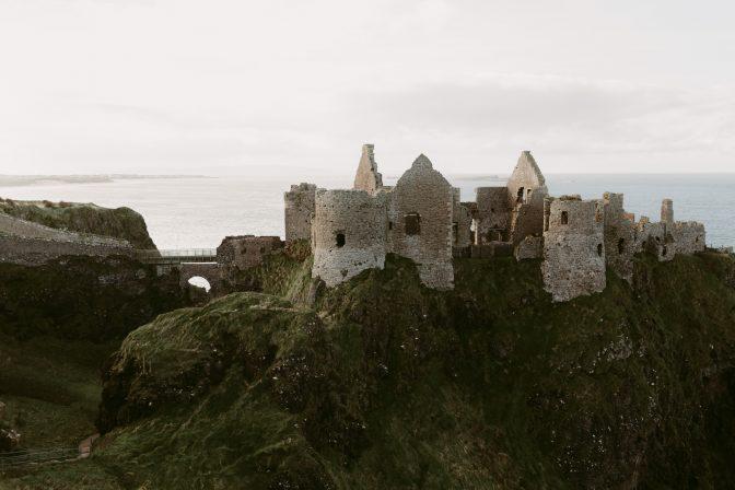 Dunluce Castle Elopement Northern Ireland Elopement Photographer