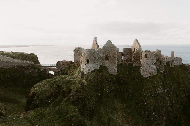 Dunluce Castle Elopement Northern Ireland Elopement Photographer
